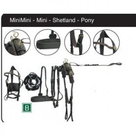 Finimento per calesse pony