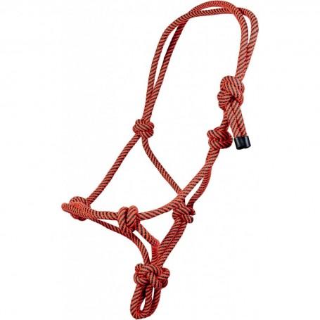 Cavezza in corda regolabile