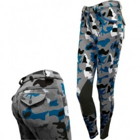 Pantaloni  Donna Daslö Camouflage