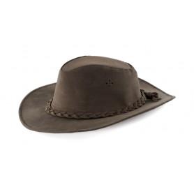 Cappello in cuoio modello Lux Bride
